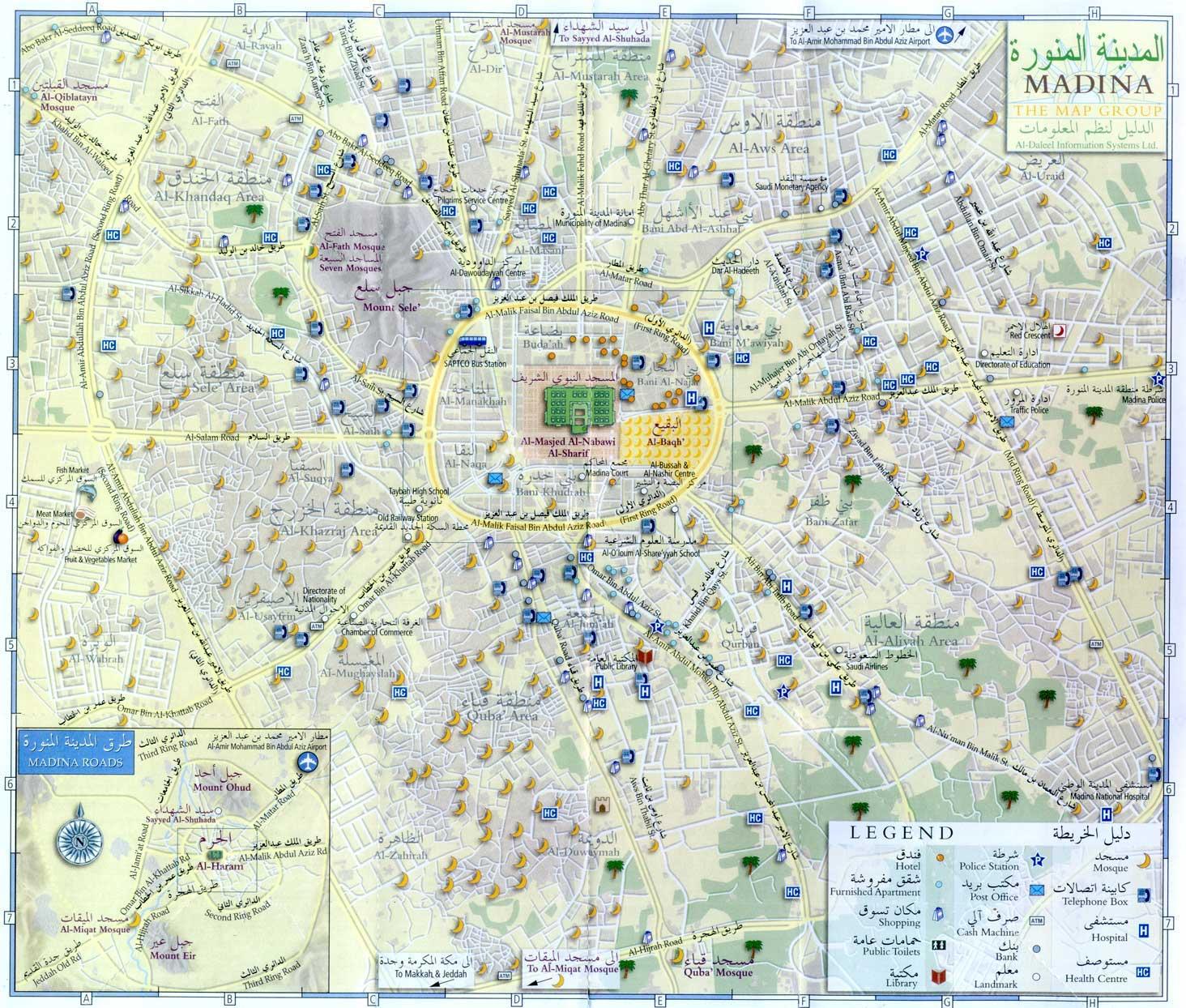 The Haj Some Useful Maps